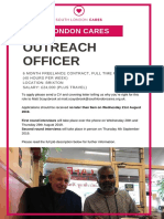SLC Outreach Officer Job Spec 2019