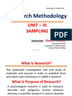 Research by Ram Ji Panday