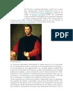 maquiavelo biografia