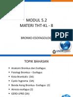 8. Bronko Esofagologi - Modul 5.2