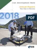 Inter-American Development Bank Annual Report 2018 the Year in Review en En