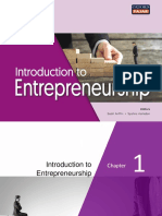 Chapter1-Introduction to Entrepreneurship