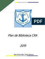 Plan Biblioteca Cra 2019