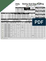 Trading Sheets for Friday, November 12, 2010