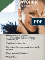 Shade Matching Presentation