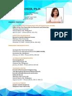 Detailed Curriculum Vitae of Dr. Oconer
