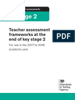 2017 to 2018 Teacher Assessment Frameworks at the End of Key Stage 2 PDFA