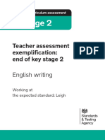 2018 Exemplification Materials KS2-EXS Leigh