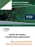Aspectos relevantes en el cambio organizacional
