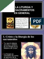 La Liturgia y Los Sacramentos