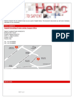 Welcome Guide-Publicis.sapient Gurgaon and Noida