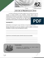 Consolidación de La República en Chile