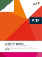 Example Segmentation Charitable Donations