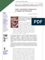 Preconceito e intolerância religiosa em O Pagador de Promessas
