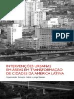 intervenções urbanas empíricas em áreas em transformação das cidades da América latina