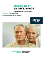 Paper 39 is the Incidence of Dementia Declining
