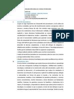 Programación Anual de Ciencia Tecnología Cta