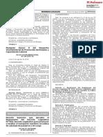 DECRETO SUPREMO N° 029-2019-MTC