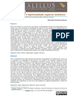 RODRIGUES-CAMARA MATERNIDADE E ESPIRITUALIDADE- ASPECTOS SIMBÓLICOS 2015 JUNG