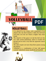 Chapter 3.Volleyball