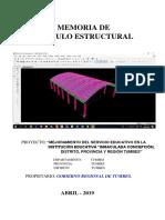 2.- Memoria de Calculo - Estructuras - Coberturas.docx