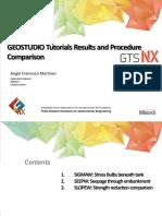 GEOSTUDIO Tutorials Results and Procedure Comparison 1496864348
