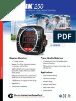 Medidor Energía Shar250