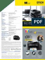 Impresora Epson -l655