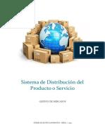 Sistema de Distribución Del Producto o Servicio