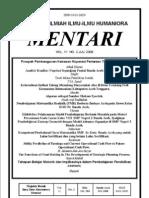 Mentari Vol 11 No 2 Juli 2008