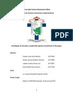 Estrategias de Mercadeo y Publicidad Vigentes Actualmente en Nicaragua