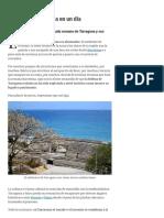 Qué Ver en Tarragona en Un Día - Viajablog