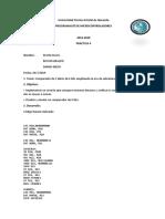 Práctica 4 - Comparador de Dos Datos de 4 Bits - Alava Steven- Mero Danny - Giraldo Bryan - 6to Telemática