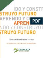 Aprendo y Construyo Futuro. Informe de sistematización de aprendizajes. República Dominicana