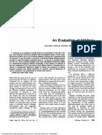 An Evaluation of Iridology-September 28, 1979