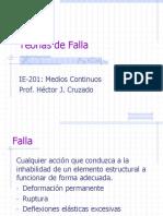 IE-201-03 Teorias de Falla