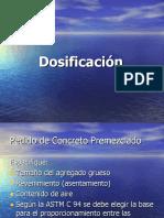 4.2 Dosificacion Premezclado