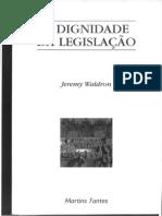 WALDRON, Jeremy. A dignidade da legislação. (2).pdf