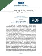 Real Decreto 67-2010, De 29 de Enero, De Adaptación de La