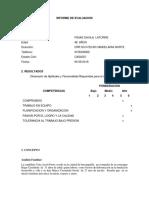 Informe de Prueba Psicotecnica- Fidias