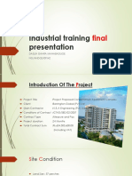 Industrial Training Final Presentation