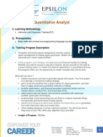 Quantitative Analyst