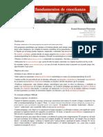 Metodologias y Fundamentos de La Enseñanza Cap 1