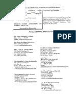 Amici Curiae-Delegación PPD Senado