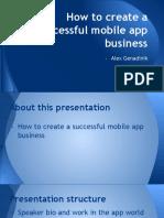 Mobile Apps Presentation