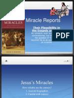 2. Miracles Summary