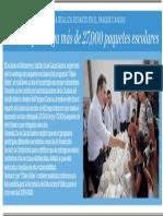 06-08-19 Monterrey entrega más de 27,000 paquetes escolares