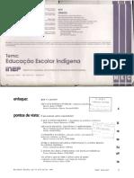 Em Aberto. Revista Do Inep Educação Escolar Indígena