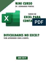 Excel para contabilidade - Prof. Leonardo Portal