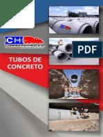 Brochures Tubos de Concreto Conhsa Payhsa
